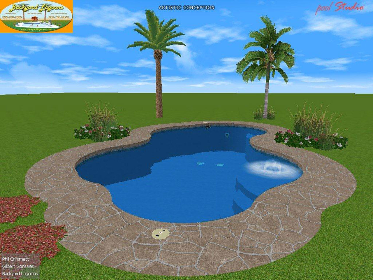 3d Swimming Pool Images