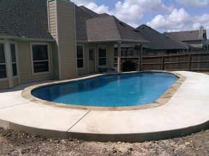 $35k Pool With extra decking